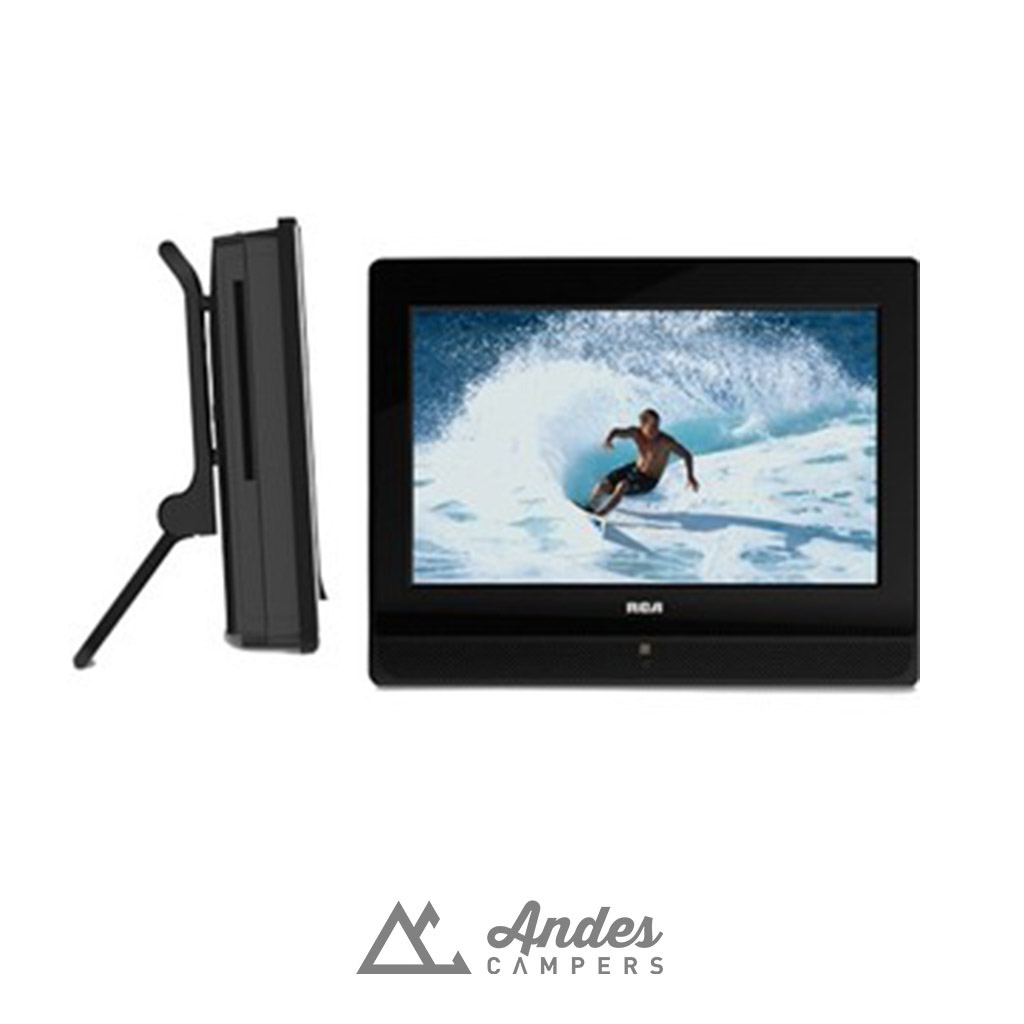 TV portable adicional con DVD